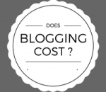 Does blogging cost