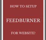 set up feedburner