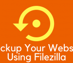 how to backup your site with filezilla