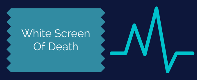 how to get rid of white screen of death