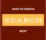 design search box