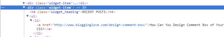 edit wordpress blog sidebar