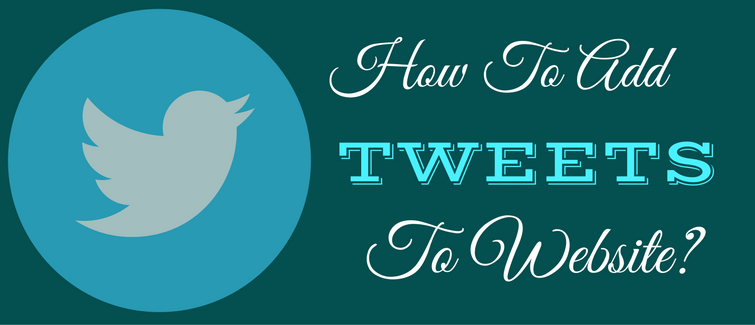 add tweets to website