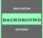 add custom background