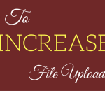 increase file upload size in wordpress
