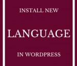 install new language