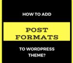 add post formats