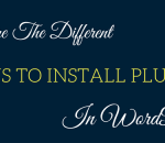 ways to install plugins