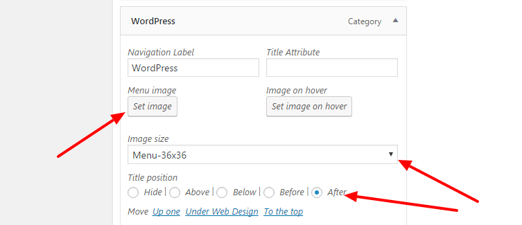 how to add icons