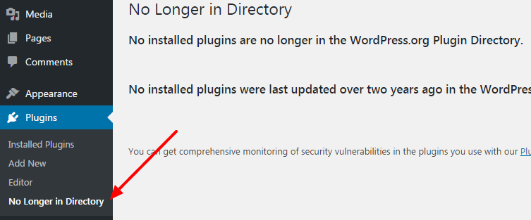 check plugins