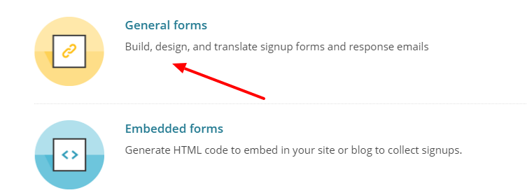 adding mailchimp subscription form