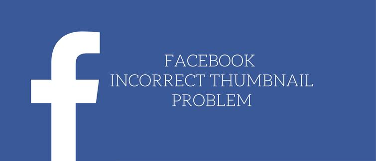 facebook incorrect thumbnail problem in wordpress
