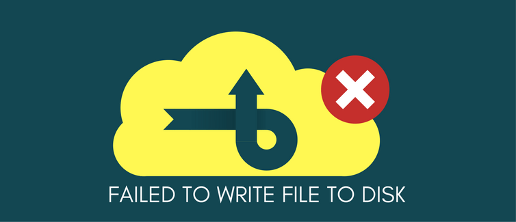how to fix disk write errors