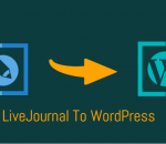Move your blog from LiveJournal to WordPress
