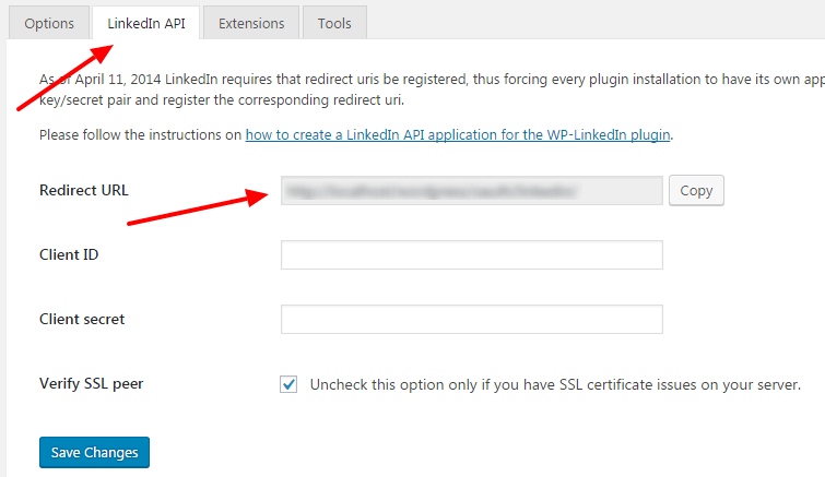 add your linkedin proifle widget