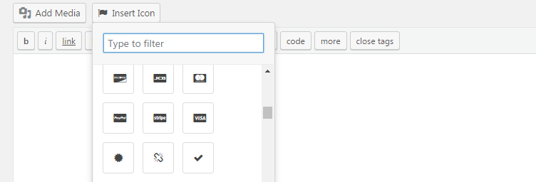 icon fonts using font awesome