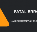 Fix fatal error: maximum execution time exceeded
