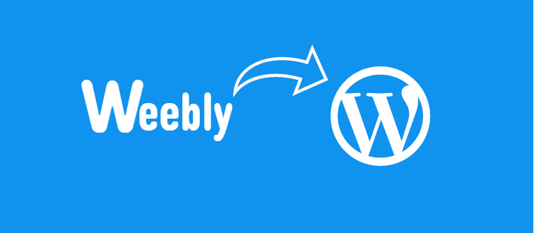 Move your blog from Weebly to WordPress