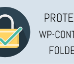 Protect the wp-content folder
