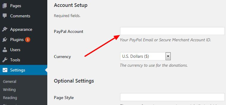Add PayPal donate button
