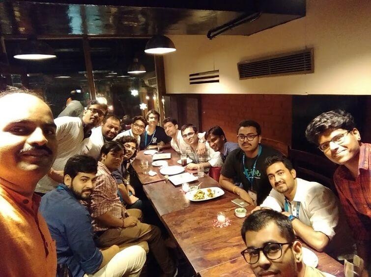 WordCamp Delhi 2017 After Party