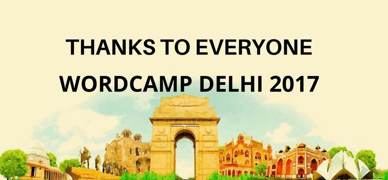 Wordcamp Delhi 2017