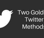Two Twitter Methods