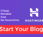 Start Your Blog With Hotinger
