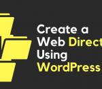 Create a Web Directory Using WordPress