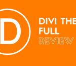 Divi theme full review