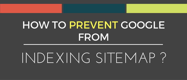 stop indexing sitemap