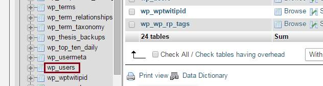 create a new database user