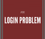 how to solve login problem in wordpress
