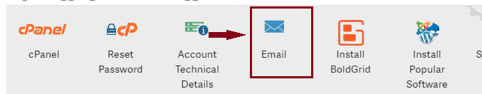 create an email account
