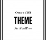 create a child theme