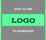 link logo to homepage