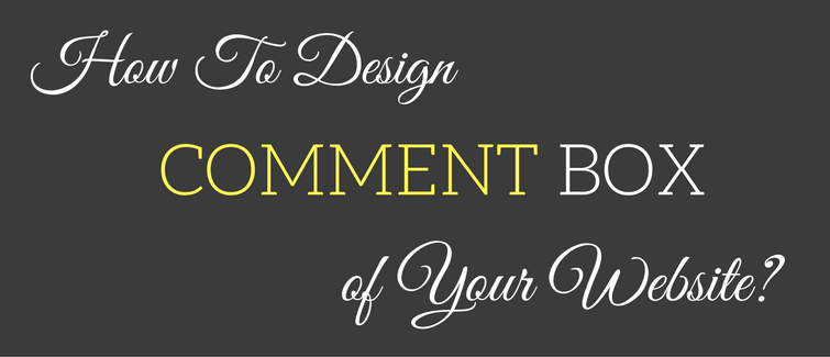 design comment box