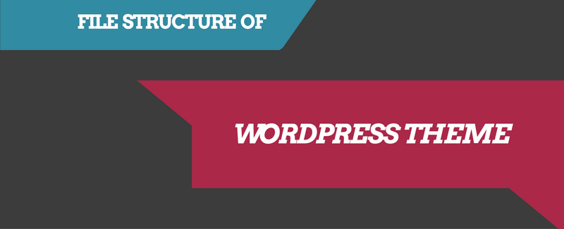 wordpress theme file structure