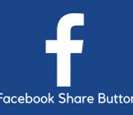 add facebook share button to your site