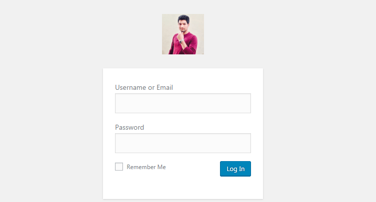 change wordpress login logo without plugin