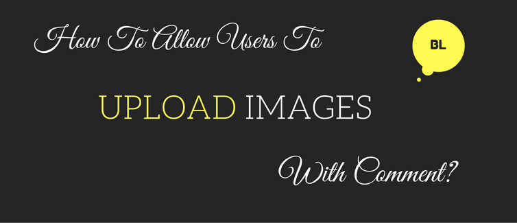 allow users to upload images