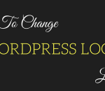 change wordpress login logo