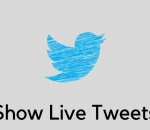show live tweets on a website
