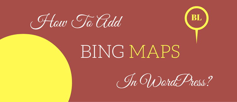 add bing maps to your website