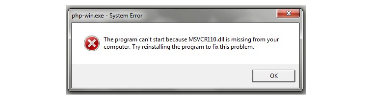 missing msvcr120.dll download