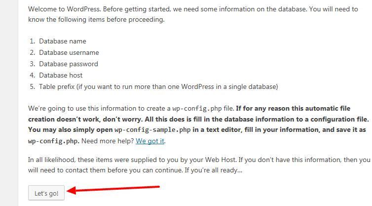 install wordpress on wamp