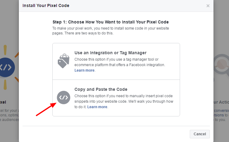 install facebook retargeting pixel in wordpress