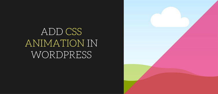 Add css animation in wordpress without coding