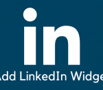 Add your LinkedIn profile widget in WordPress
