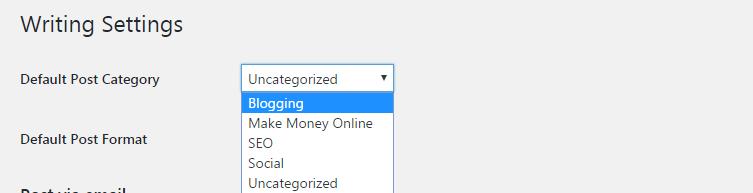 Rename uncategorized category in wordpress